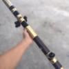 Điếu Trúc Bọc Đồng Trơn Dài 90cm