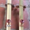Điếu Nứa Mini Miệng Gỗ Đan Mây